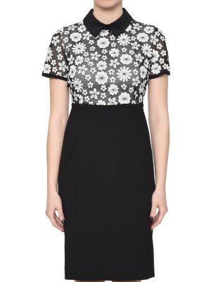 Хлопковое платье - черное Anna Rachele