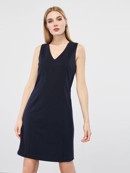 Платье рубашка - синее Mexx