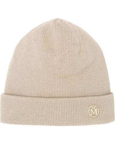 Beżowy kaszmir czapka Maison Michel