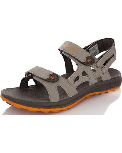 Спортивные сандалии на липучках кожаные Merrell