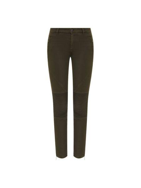 Широкие джинсы короткие - зеленые No. 21