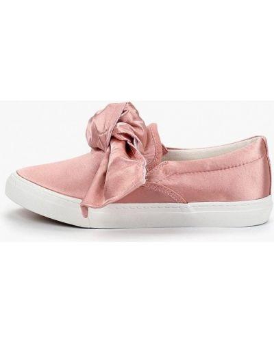 Слипоны розовый Catisa