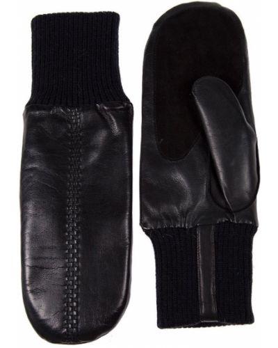 Черные варежки Alpa Gloves