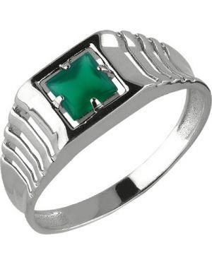 Кольцо серебряный Aquamarine