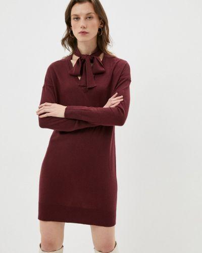 Вязаное платье - бордовое Twinset Milano