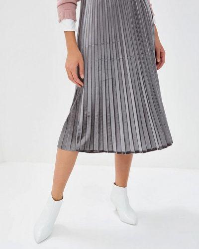 Плиссированная юбка осенняя Baon