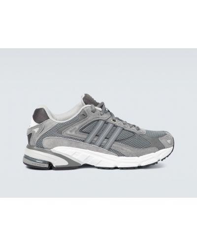 Skórzany sneakersy z siatką siatkowaty Adidas Originals