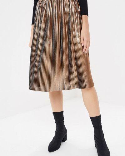 Плиссированная юбка итальянский золотой Rinascimento