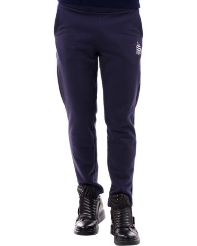 Спортивные брюки из полиэстера - синие Marina Yachting