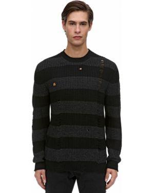 Prążkowany z kaszmiru sweter Htc Los Angeles
