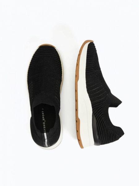 Кроссовки черные низкие Oysho