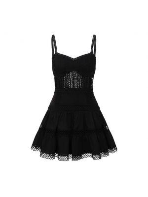 Хлопковое платье - черное Charo Ruiz Ibiza