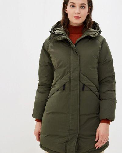 Зимняя куртка осенняя зеленая Selected Femme
