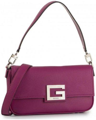 Фиолетовая сумка через плечо из искусственной кожи Guess
