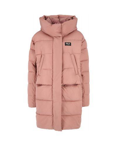 Куртка оверсайз - оранжевая Fila