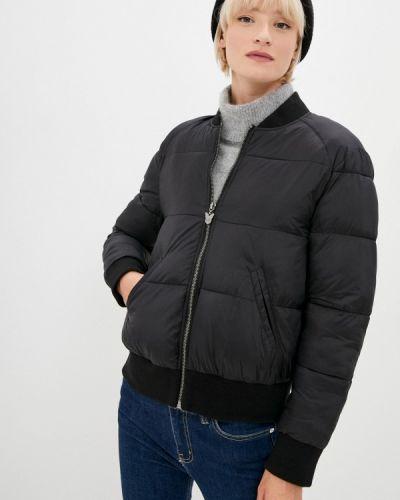 Черная утепленная куртка J.b4