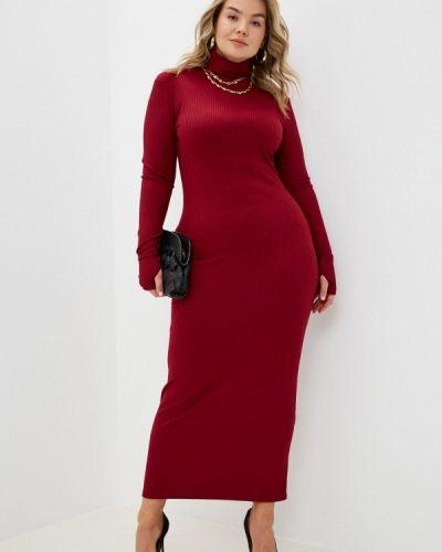 Красное платье-свитер Trendyangel