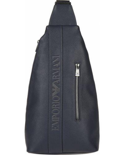 Рюкзак синий Emporio Armani