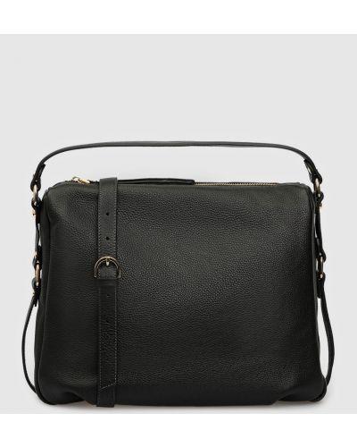 Кожаная сумка - черная Gianni Notaro
