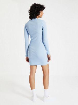 Платье - голубое Trendyol