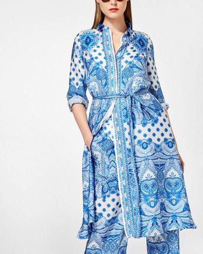 Платье миди весеннее Pedro Del Hierro