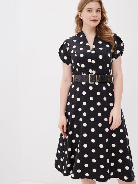 Черное повседневное платье Kitana By Rinascimento