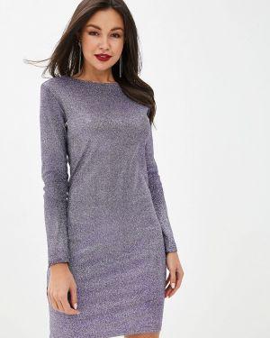 Вечернее платье осеннее фиолетовый Imocean