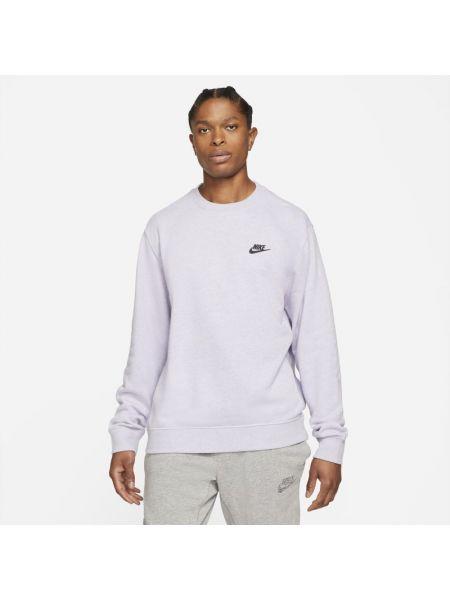 Klasyczna ciepła fioletowa bluza Nike