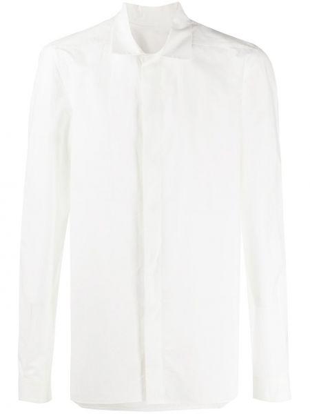 Koszula z długim rękawem klasyczna wyposażone Rick Owens