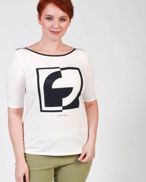 Хлопковая футбольная футболка Comma