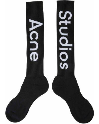 Czarne skarpety Acne Studios