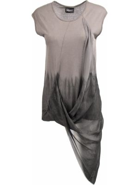 Шелковая футболка - черная Roque