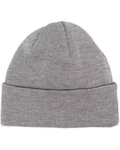 Шерстяная серая тонкая шапка бини в рубчик A Kind Of Guise