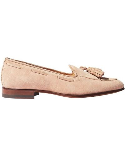 Beżowe loafers Scarosso