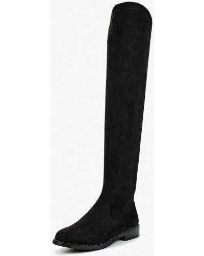 Черные ботфорты Evita