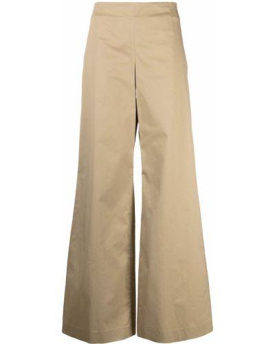 Свободные хлопковые брюки свободного кроя Lardini