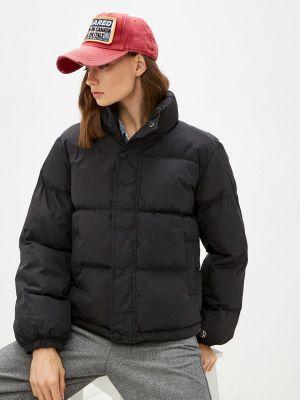 Черная зимняя куртка Fresh Cotton