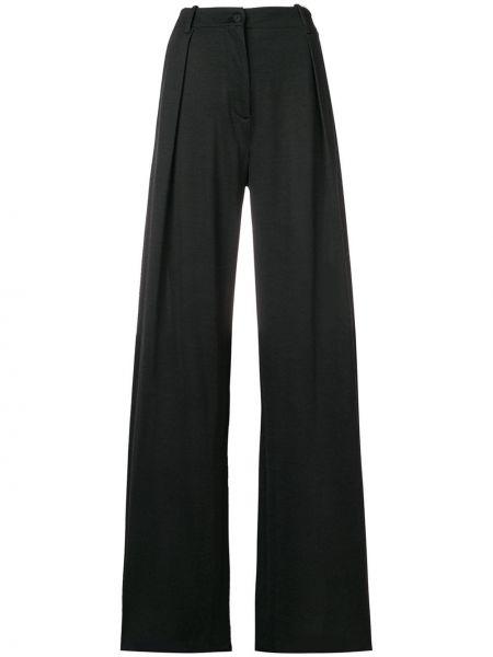Классические брюки расклешенные - серые Tomas Maier