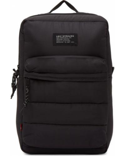 Черный рюкзак для ноутбука с карманами из канваса Levi's®