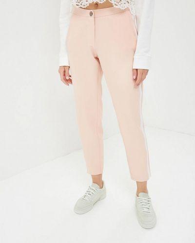Розовые зауженные брюки Jennyfer