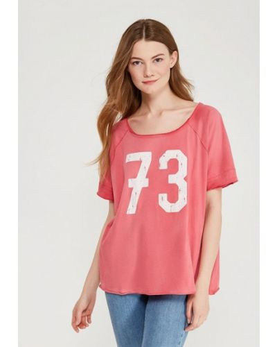 Розовая футболка Billabong