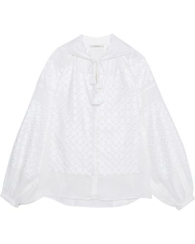Блузка с завязками с широкими рукавами Vita Kin