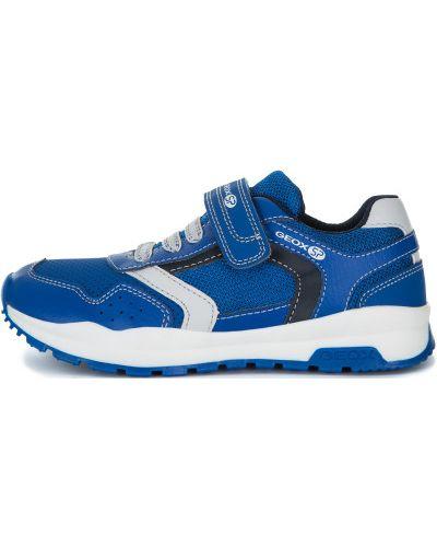 Облегченные синие кроссовки беговые для бега Geox