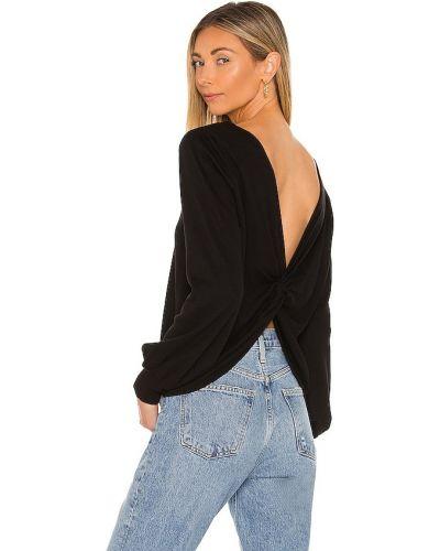 Трикотажный пуловер - черный La Made