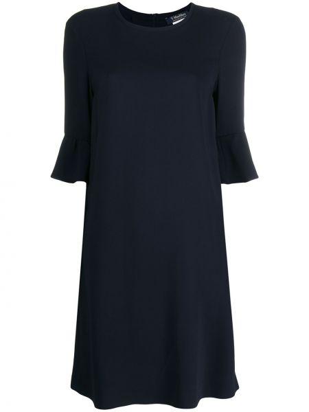 Платье синее платье-солнце 's Max Mara