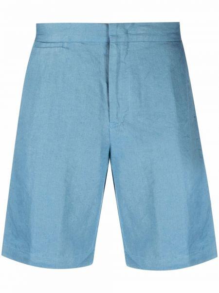 Шорты с карманами - синие Orlebar Brown