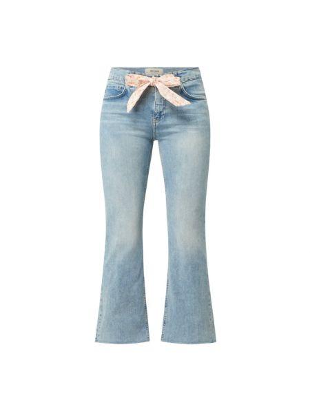 Mom jeans bawełniane - niebieskie Mos Mosh