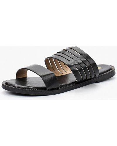 Сабо кожаные на каблуке Saivvila