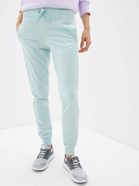 Спортивные брюки зеленый весенний Adidas