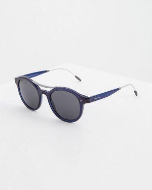 Солнцезащитные очки синий итальянский Giorgio Armani